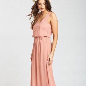 Show Me Your Mumu Kendall dress Rustic Mauve Crisp